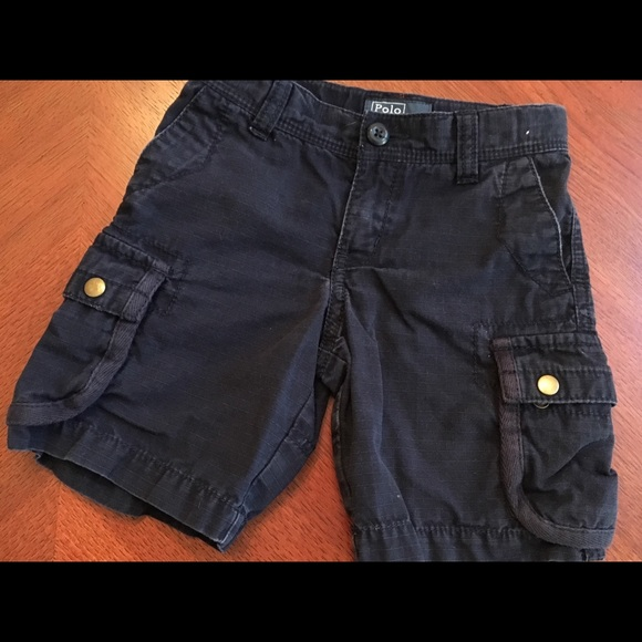Polo by Ralph Lauren Other - Navy Polo cargo short size 3T. Good condition.